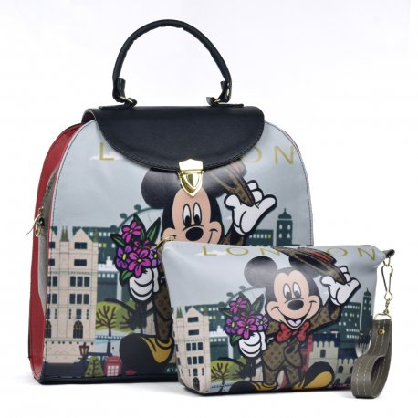 Duo Xochilt Mochila con cosmetiquera  Raton London
